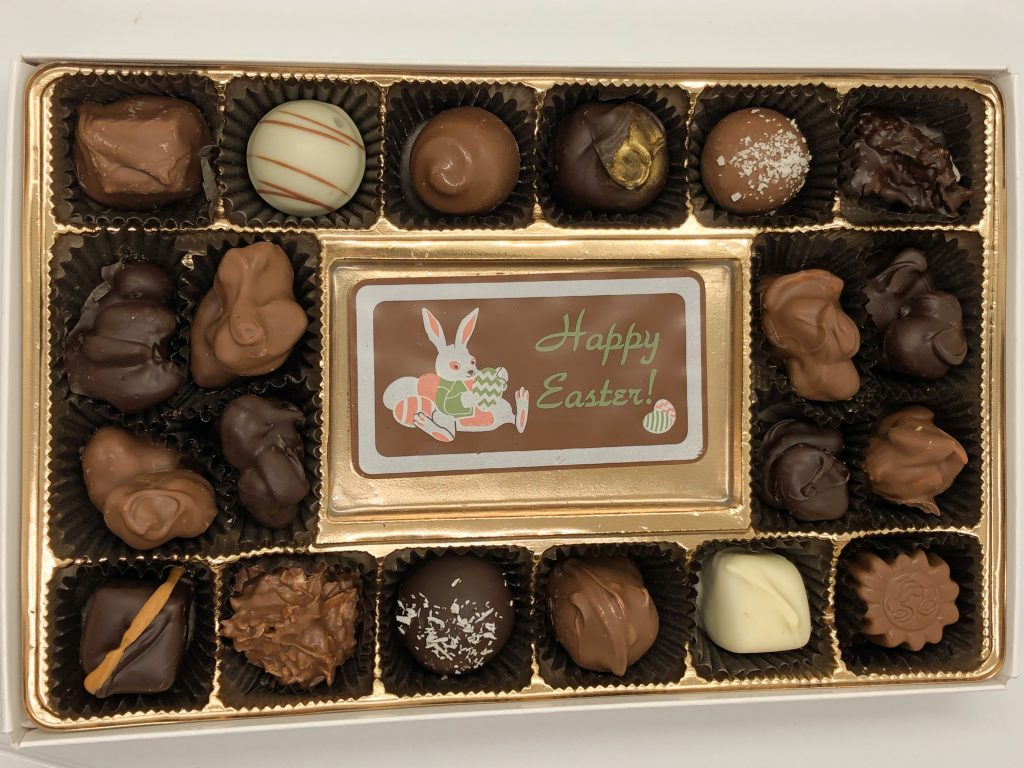 Easter deluxe chocolate candy