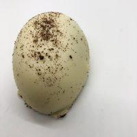 white chocolate oreo easter egg