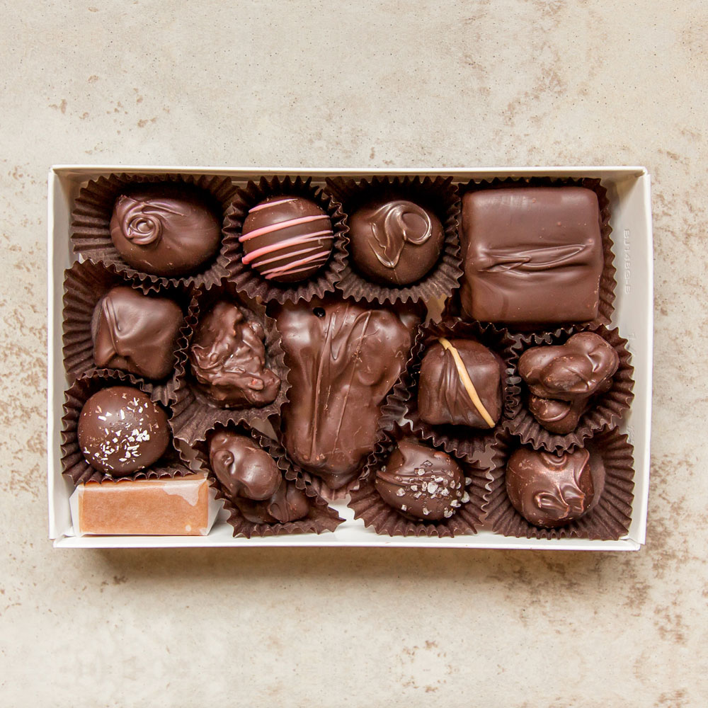 Half Pound Dark Assortment Chocolate