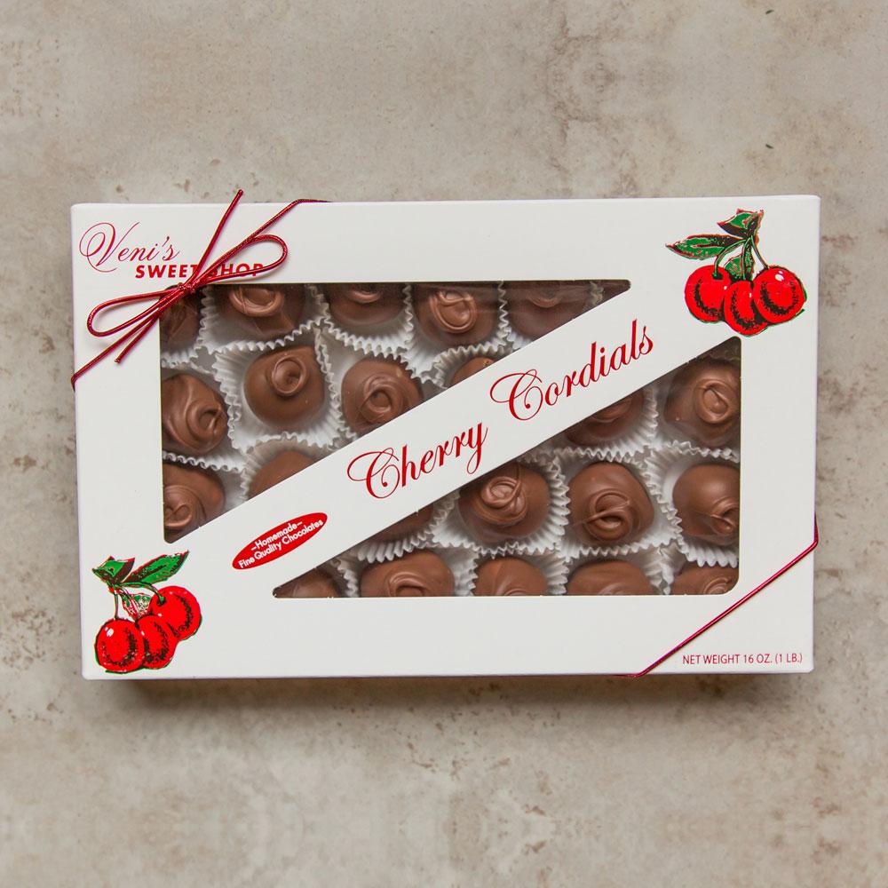 One Lb Milk Chocolate Cherry Cordials