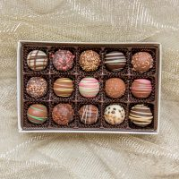 assorted handmade truffles