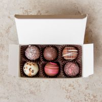 Six Piece Truffle Gift Box