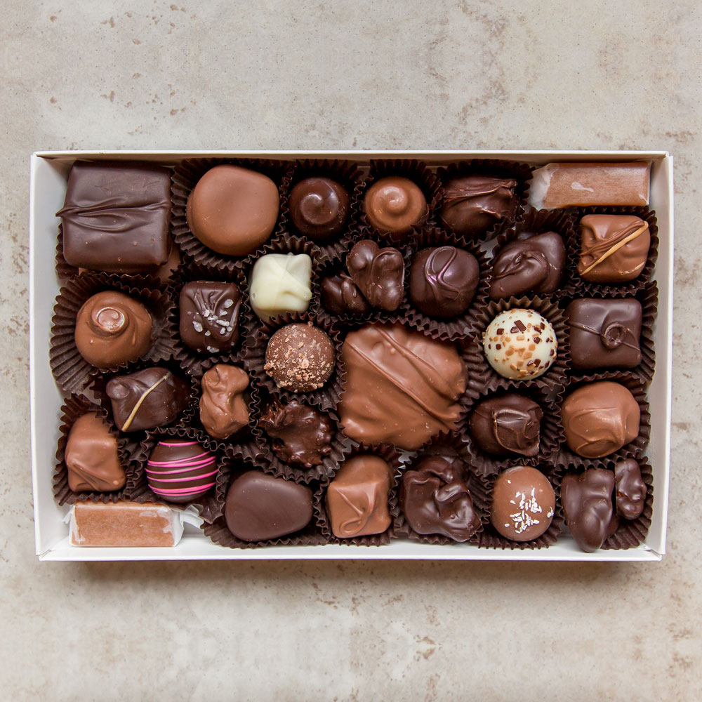 one pound deluxe assortment chocolate