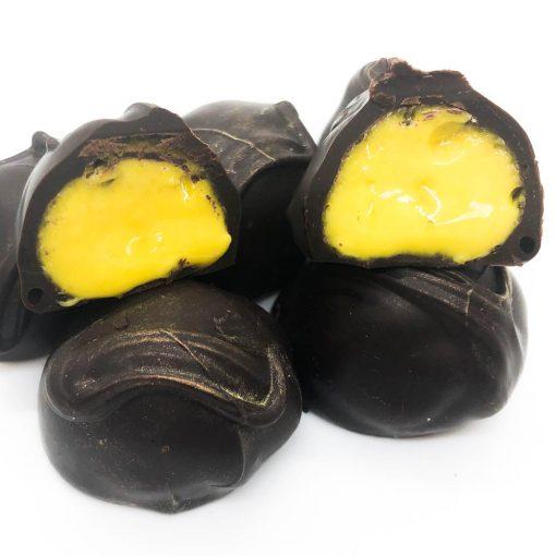 Dark Chocolate Lemon Cream