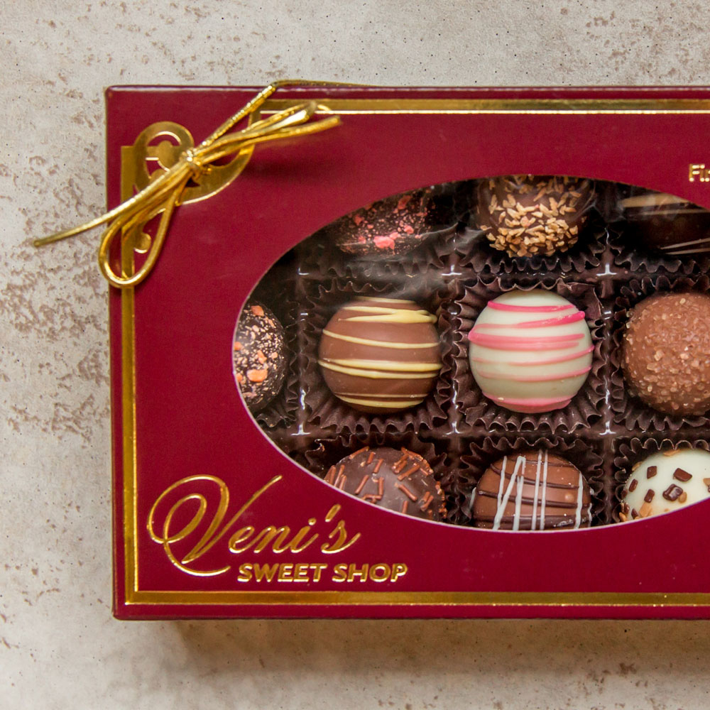 Handmade Truffles in a Box