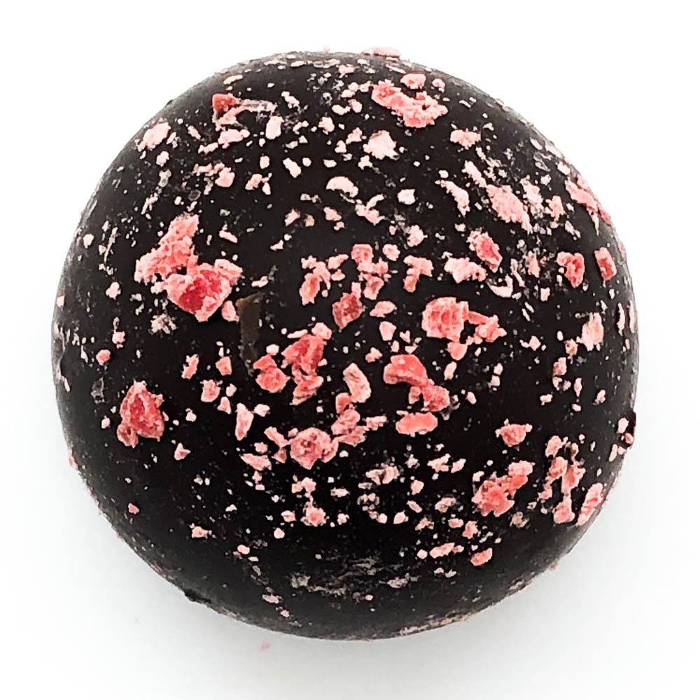 Dark Chocolate Cherry Truffle Handmade