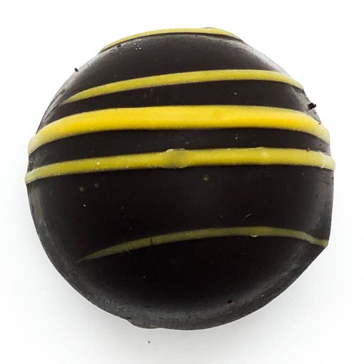 Dark Chocolate Lemon Meringue Truffle