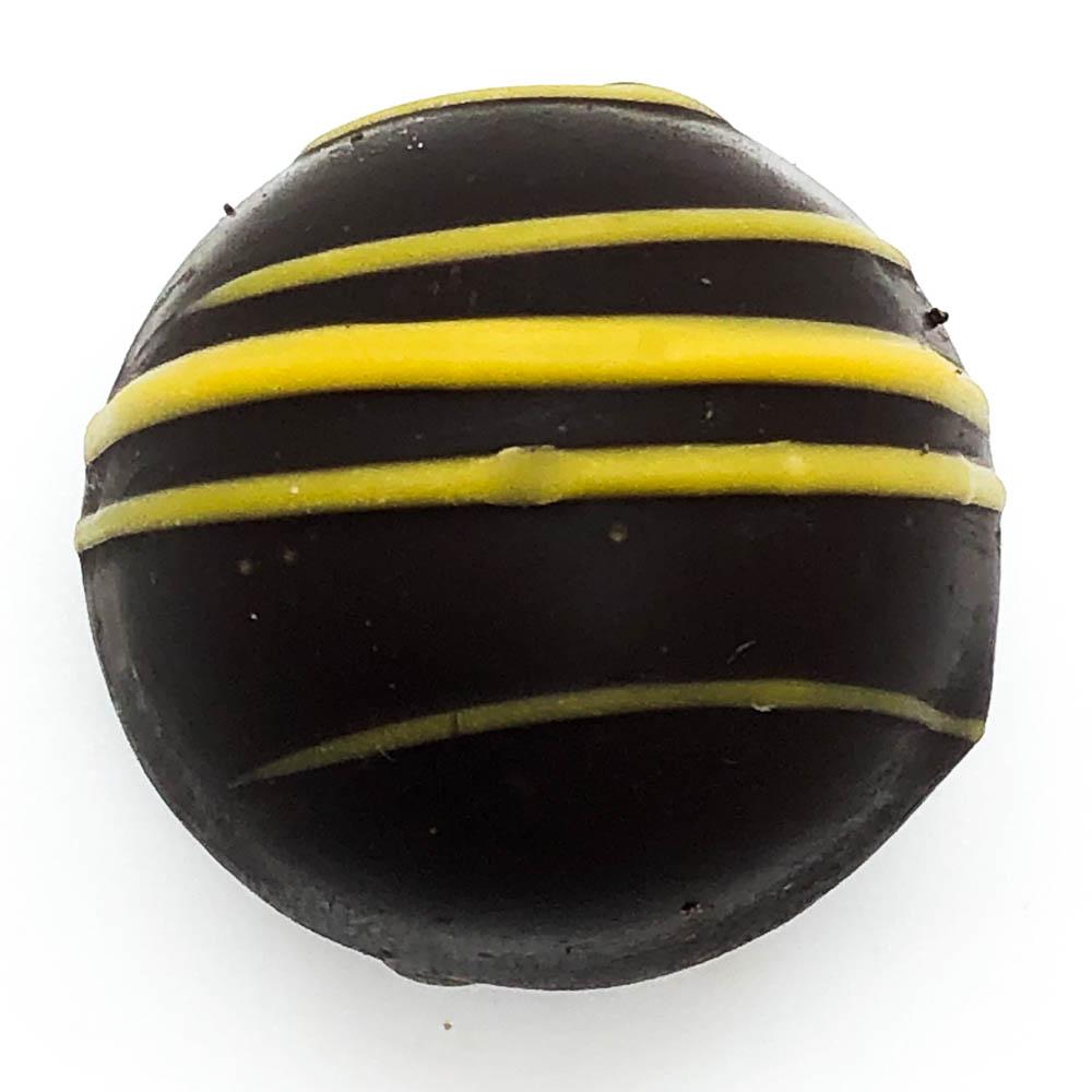 Dark Chocolate Lemon Meringue Truffle