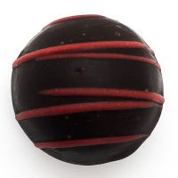 Dark Chocolate Pomegranate Truffle