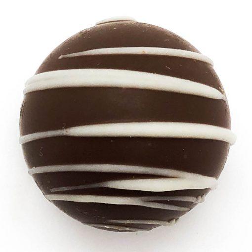 milk chocolate coffee truffle