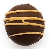milk chocolate peanut butter truffle
