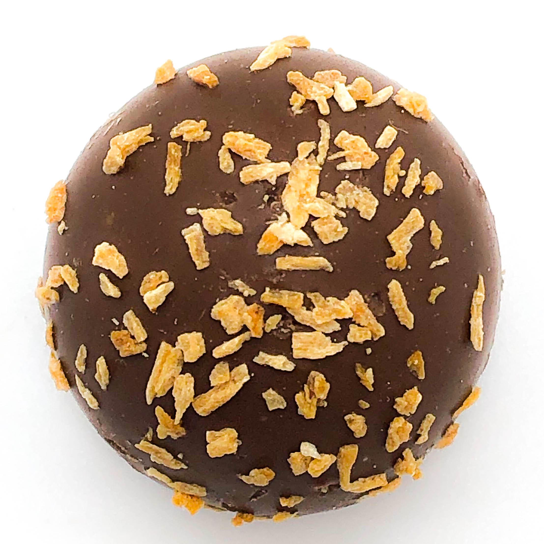 milk coconut truffle