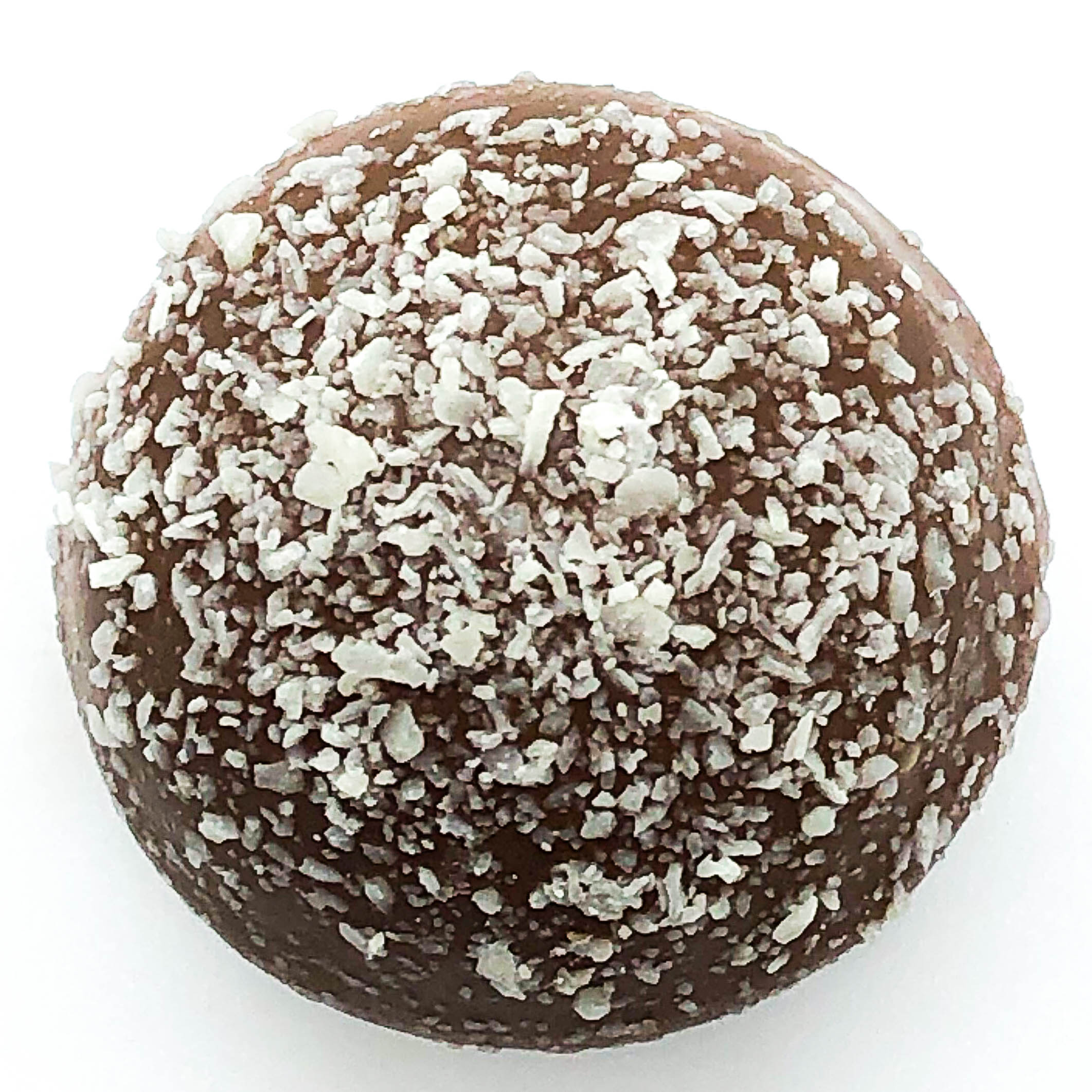 milk rum truffle